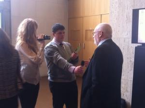 Interviewing Pat