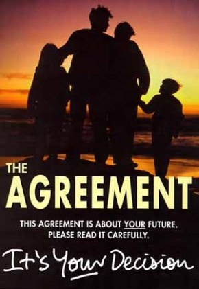 cover of the Agreement