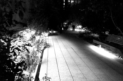 High Line at Night - August 2014